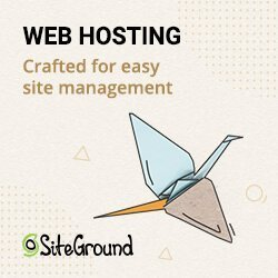 Web Hosting with Siteground
